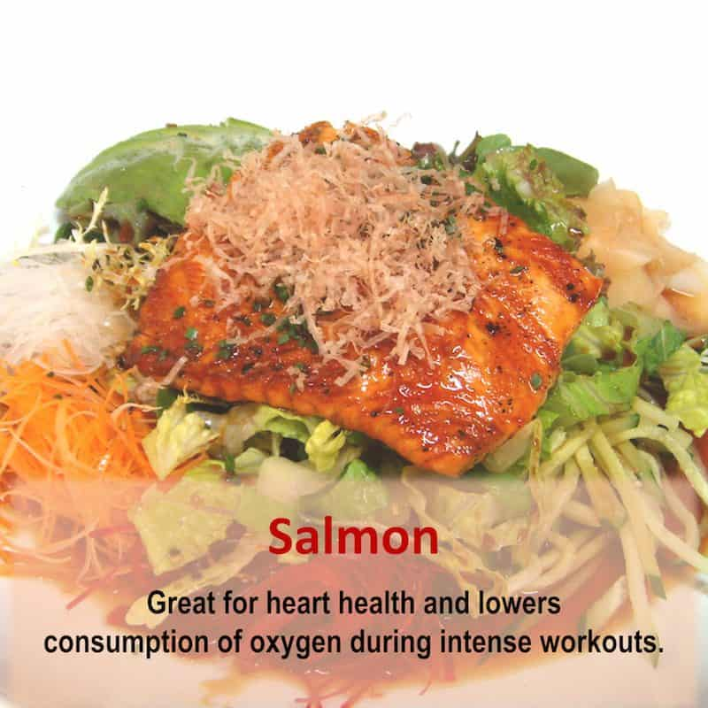 Eat Salmon for a healthy heart